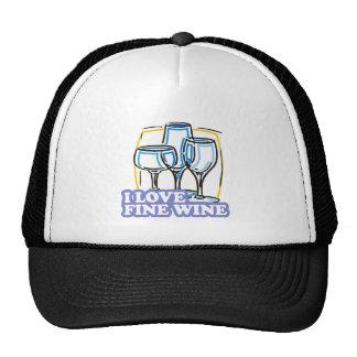 I Love Fine Wine Fine Wine Cap