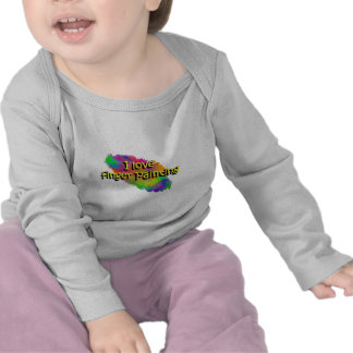 I Love Finger Painting Infant Long Sleeve Top T-shirt