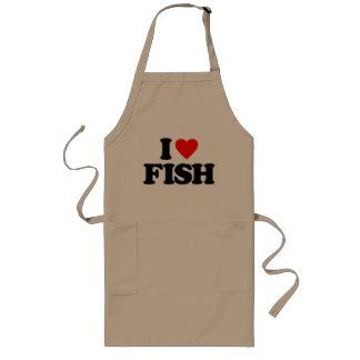 I LOVE FISH APRONS