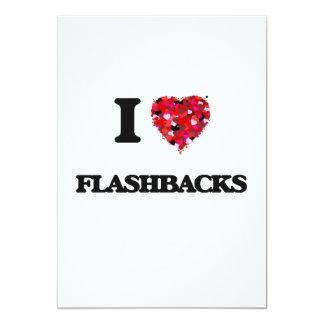 I Love Flashbacks 13 Cm X 18 Cm Invitation Card