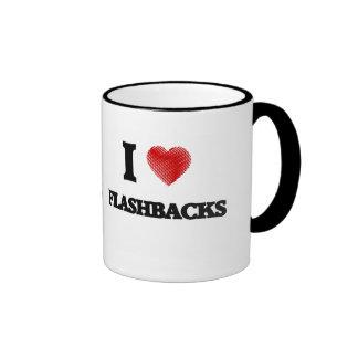 I love Flashbacks Ringer Mug