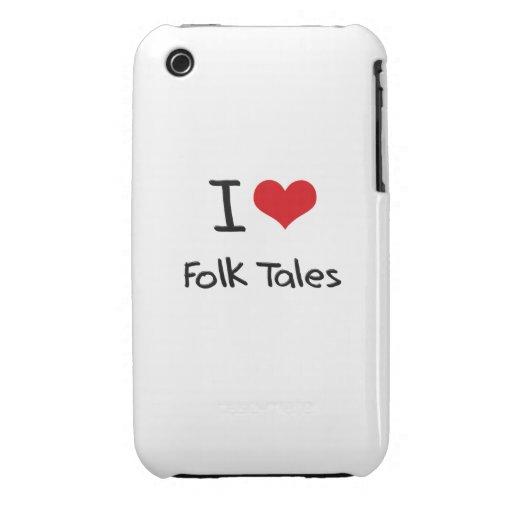 I Love Folk Tales Case-Mate iPhone 3 Case