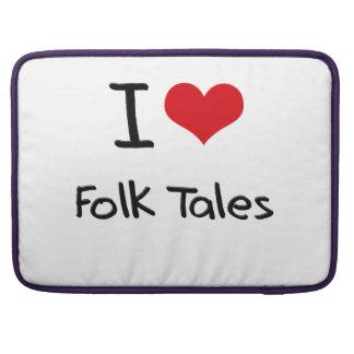 I Love Folk Tales MacBook Pro Sleeve