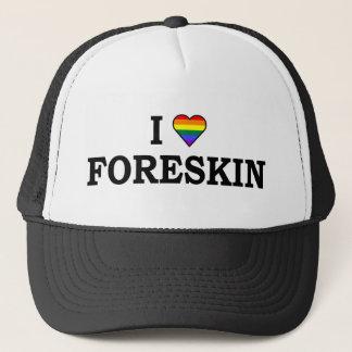 I Love Foreskin Trucker Hat