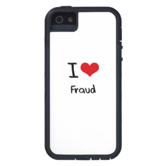 I Love Fraud iPhone 5 Cases