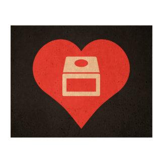 I Love gamecube Cork Paper Prints