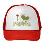 I Love Gardening Hat