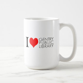 I Love Gentry Public Library mug