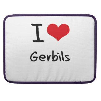 I Love Gerbils MacBook Pro Sleeves