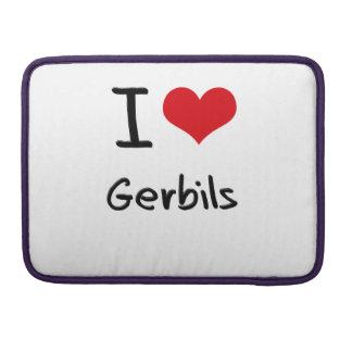 I Love Gerbils Sleeve For MacBooks
