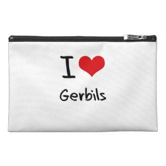 I Love Gerbils Travel Accessories Bags