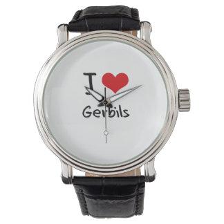 I Love Gerbils Wristwatch