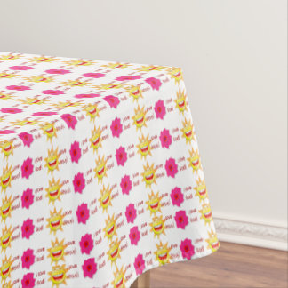 I Love God I Love Jesus Tablecloth