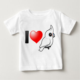 I Love Goffin's Cockatoos Baby T-Shirt