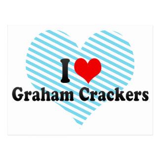 I Love Graham Crackers Postcards