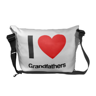 i love grandfathers courier bag