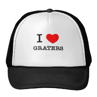 I Love Graters Mesh Hats