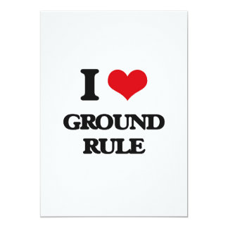 I love Ground Rule Cards