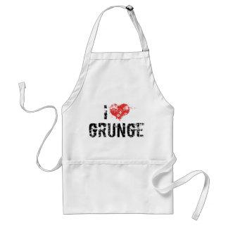 I Love Grunge Apron