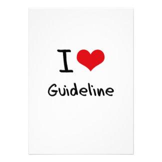 I Love Guideline Custom Announcement