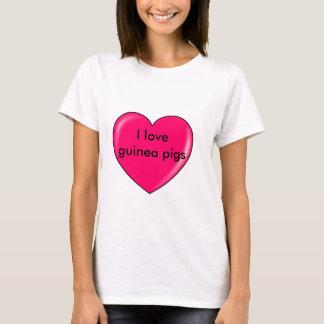 I love guinea pigs shirt