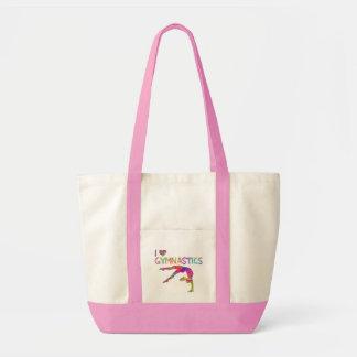 I Love Gymnastics Tie Dye Shirts Bags Stickers etc
