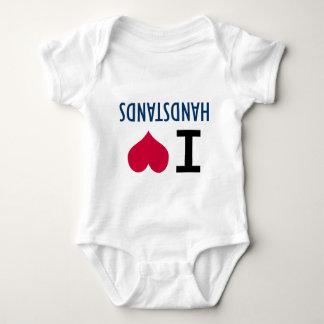 I Love Handstands Baby Bodysuit