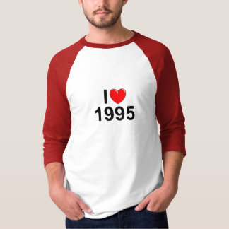I Love (Heart) 1995 T-Shirt