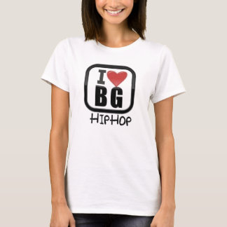 I LOVE/HEART BG HIPHOP   PROMO CAMISOLE T-Shirt
