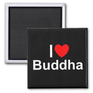 I Love (Heart) Buddha Refrigerator Magnets
