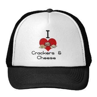 I love-heart crackers & Cheese Cap