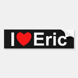 I Love (Heart) Eric Bumper Sticker