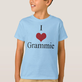 I Love (Heart) Grammie T-Shirt
