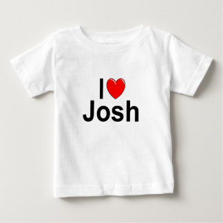 I Love (Heart) Josh Baby T-Shirt