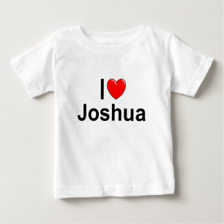 I Love (Heart) Joshua Baby T-Shirt