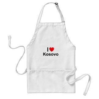 I Love Heart Kosovo Standard Apron