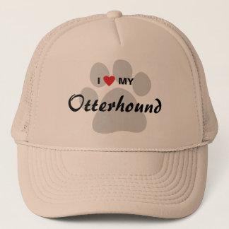 I Love (Heart) My Otterhound Trucker Hat