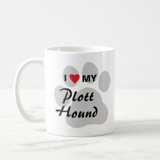 I Love (Heart) My Plott Hound Coffee Mug