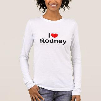 I Love (Heart) Rodney Long Sleeve T-Shirt