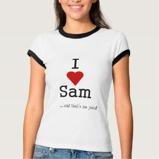 i love heart sam T-Shirt