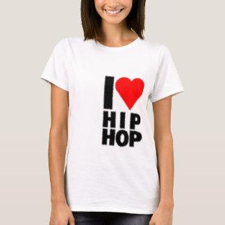 I Love Hip Hop - Heart on heart T-Shirt
