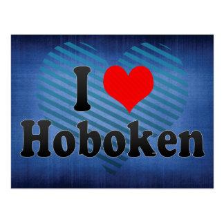 I Love Hoboken, United States Postcard