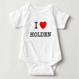 I Love Holden Baby Bodysuit