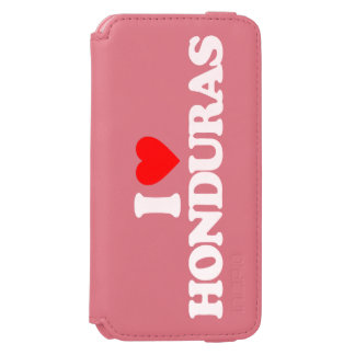 I LOVE HONDURAS INCIPIO WATSON™ iPhone 6 WALLET CASE