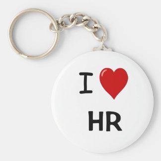 I Love HR Key Ring