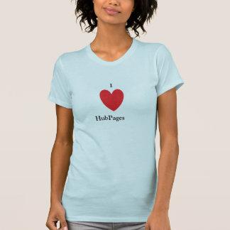 I Love HubPages Shirt
