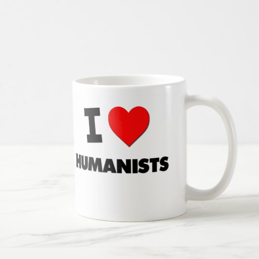 I Love Humanists Coffee Mug