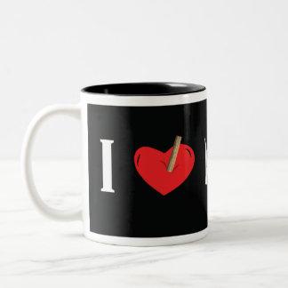 I Love Hunting Vampires Mug