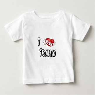 I Love Idaho Baby T-Shirt