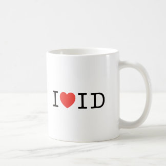 I LOVE IDAHO COFFEE MUG